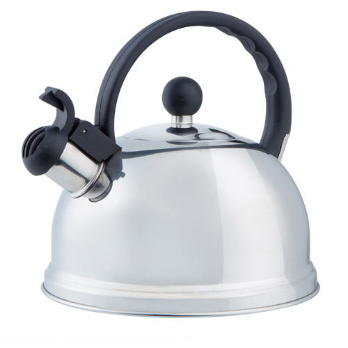Kitchen Details Chrome Finish Tea Kettle