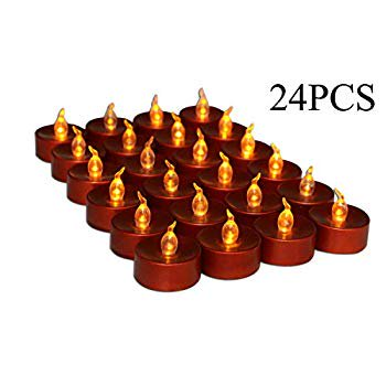 Home Depot Halloween Ideas (Halloween Flameless Candle, Led Battery Operated Brown Fake Electric Small Plastic Flameless Dropless Outdoor Indoor Home Party Pumpkin Decorative Halloween Decoration Candle Supplies Ideas,)