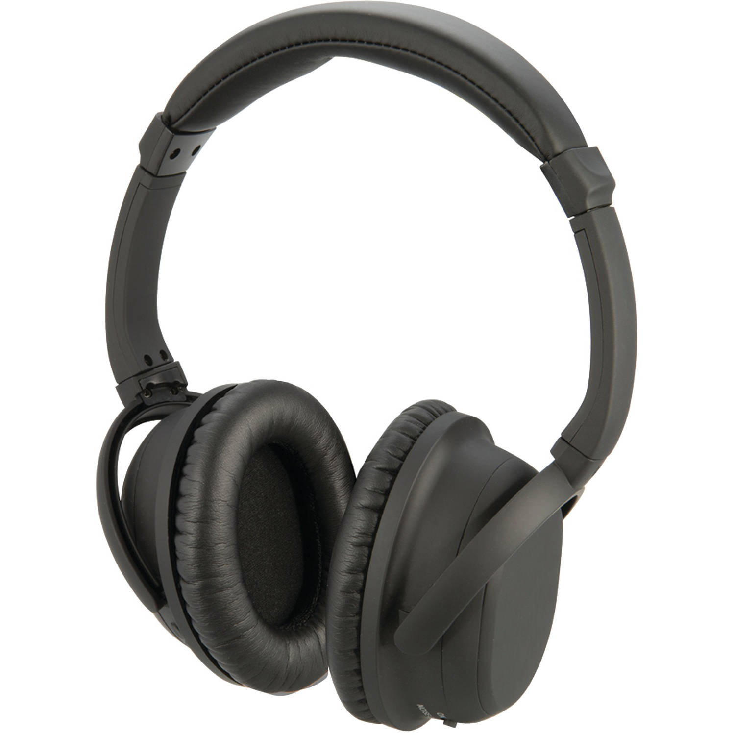 iLive IAHP86B Bluetooth Noise-Canceling Headphones with Microphone and Auxiliary Input