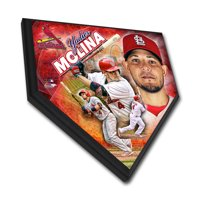 "St. Louis Cardinals Yadier Molina 11.5"" x 11.5"" Home Plate Plaque - No Size"