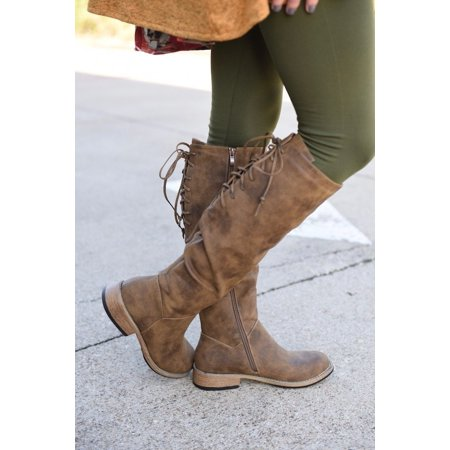 Distressed Booty - Corkys Womens Ventura Distressed Tall Boots (Brown Distressed, 7)