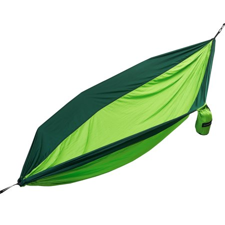 Large Two Person Parachute Camping Hammock with Nautical Grade Tree - Large Rope Hammock
