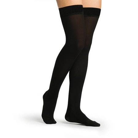 3e332ddecc15d Sigvaris Secure 553 Women's Closed Toe Thigh Highs w/Silicone Band ...
