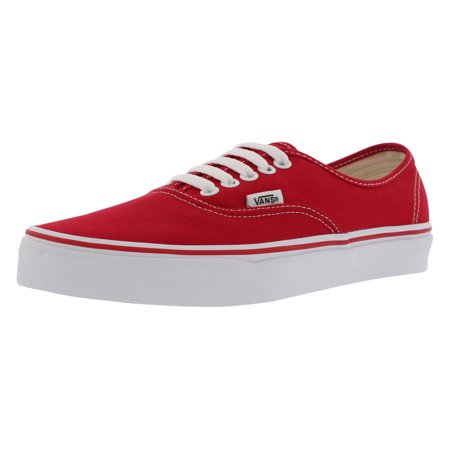 VANS Unisex VANS AUTHENTIC SKATE SHOES 10 Men US / 11.5 Women US (RED) - Unusual Vans Shoes