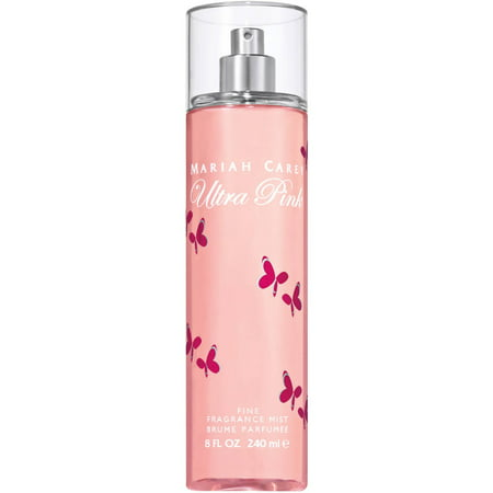 Mariah Carey Ultra Pink Fine Fragrance Mist, 8 fl oz (Mariah Carey Kids Halloween)