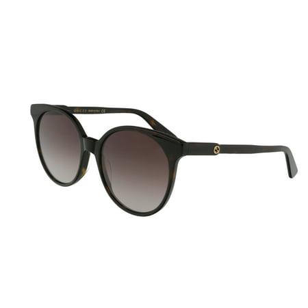 Gucci GG0488S 002 Havana Cateye Sunglasses