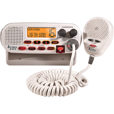 Cobra MR F45-D VHF, Basic, White