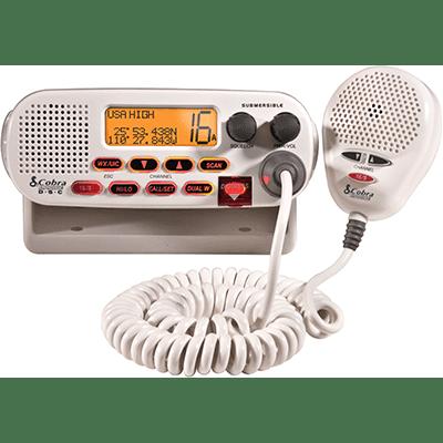 Cobra MR F45-D VHF, Basic, White