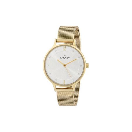 Skagen Gold-Tone Ladies Watch SKW2150 ()