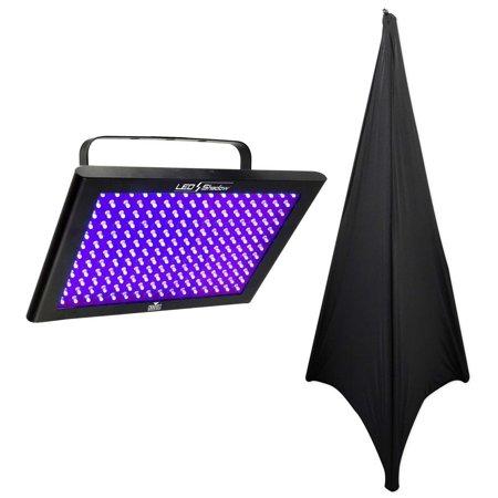 Chauvet DJ LED SHADOW  / Club DMX 512 3 CH. Blacklight Panel LEDSHADOW+Scrim - Blacklight Room Decor