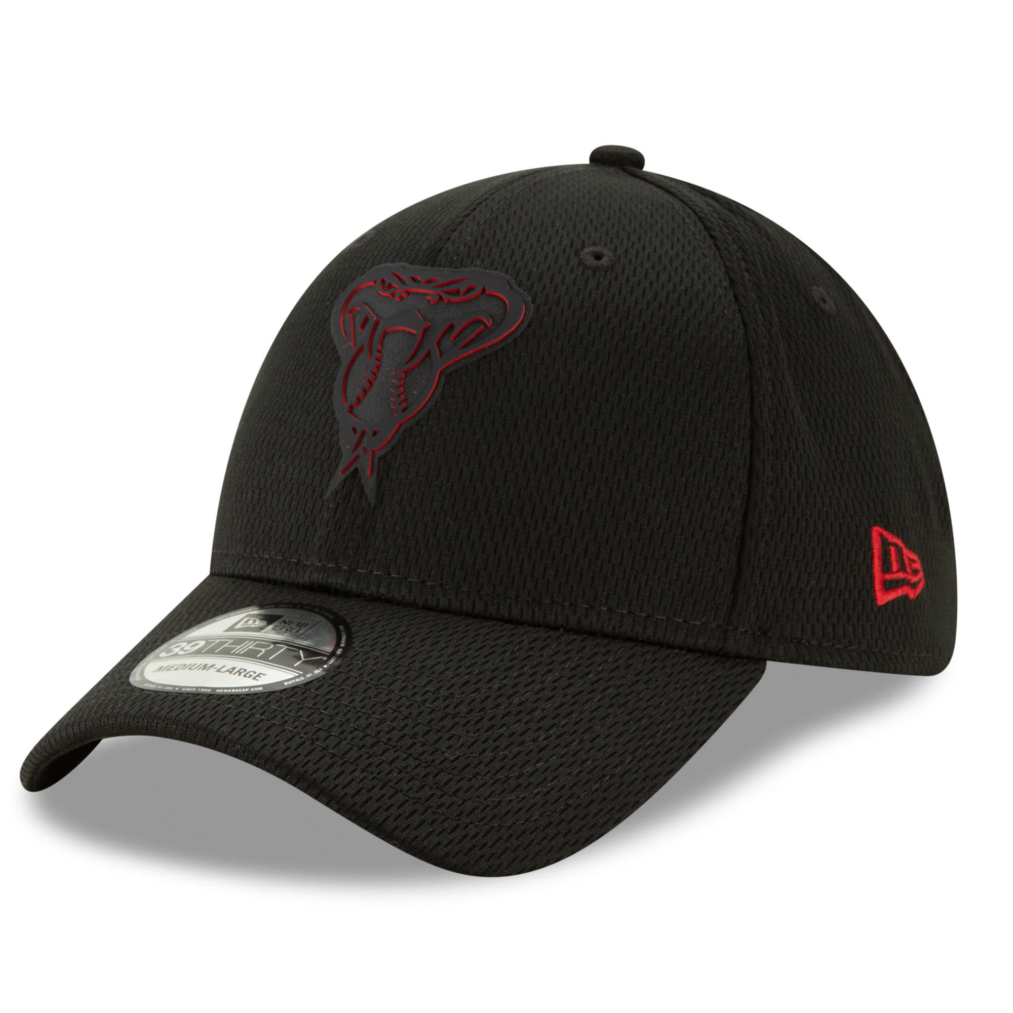 Arizona Diamondbacks New Era 2019 Clubhouse Collection 39THIRTY Flex Hat - Black