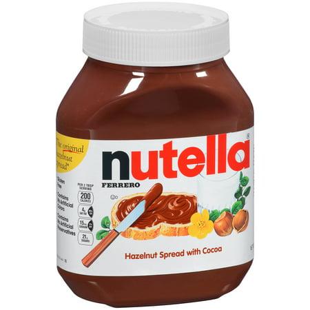 Nutella Hazelnut Spread, 33.5 oz (Nutella Spoon)