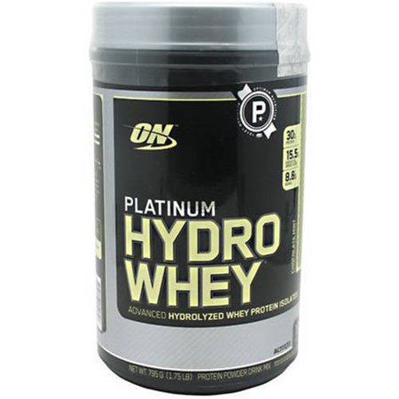 Optimum Nutrition Platinum Hydro Whey, Chocolate Mint, 19 CT