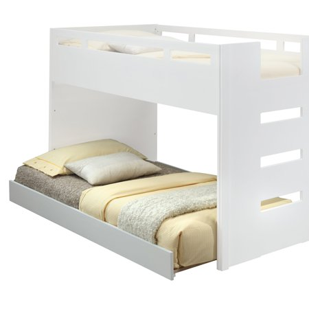 Acme Furniture Deltana Twin Loft Bed with Optional Trundle ()