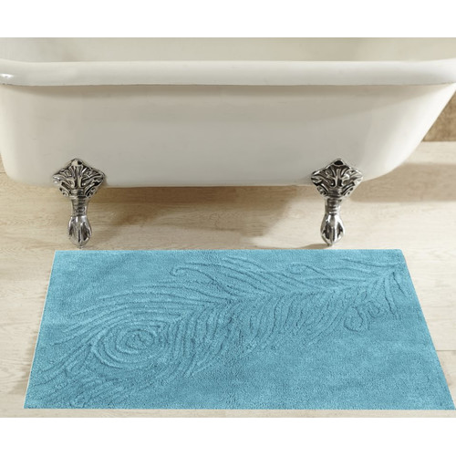 Better Trends Padme Tufted Cotton Bath Rug