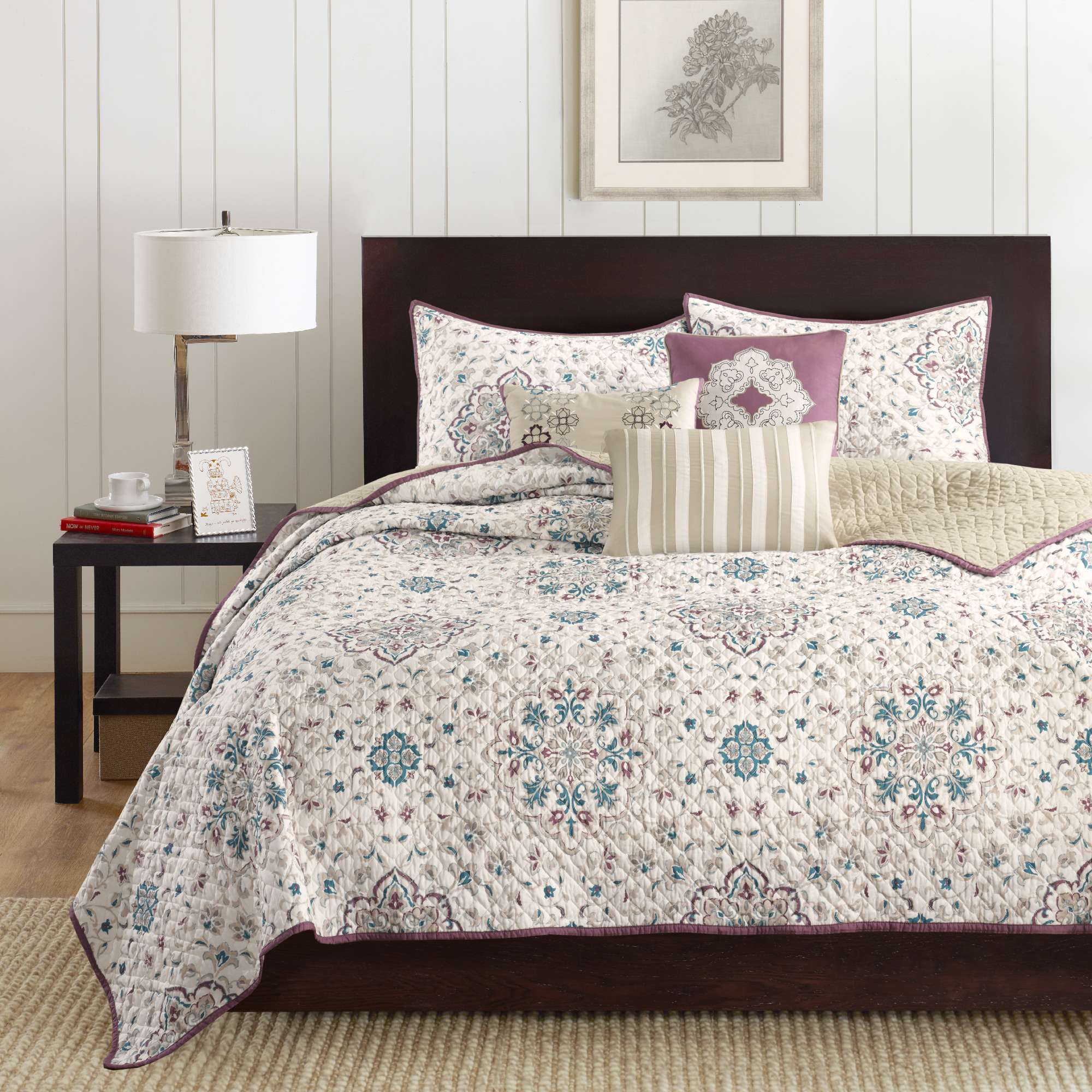 Home Essence Neda 6 Piece Quilted Coverlet Bedding Set by E & E co. Ltd
