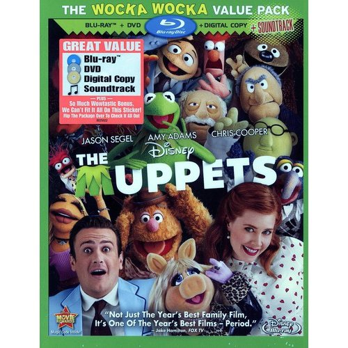 The Muppets (Blu-ray + DVD + Digital Download) (With Soundtrack Download Card) (Widescreen)