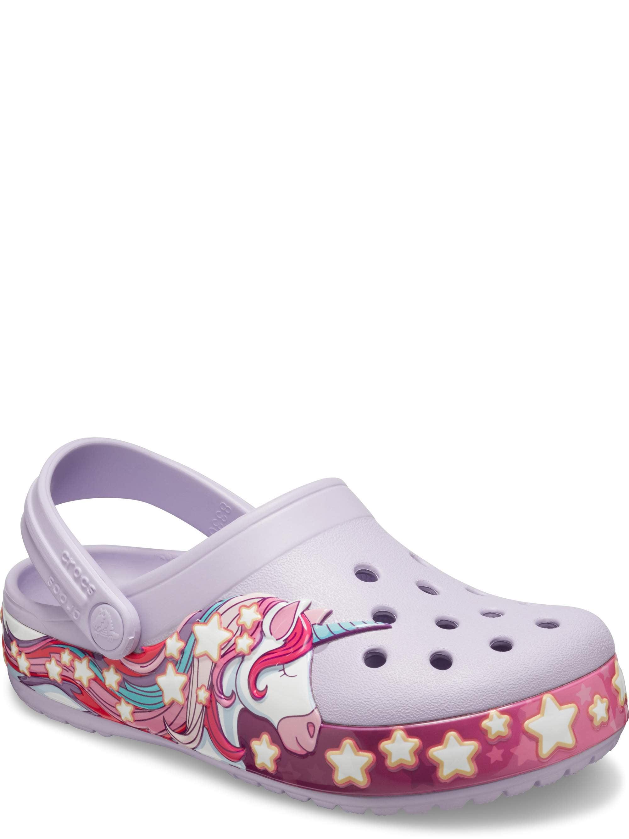 Crocs Child FunLab Unicorn Band Clogs