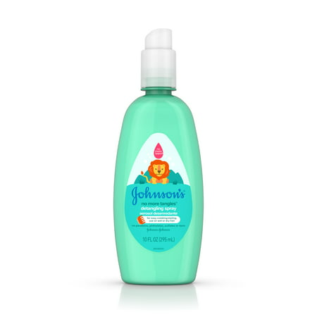 Johnsons No More Tangles Detangling Spray - 10oz