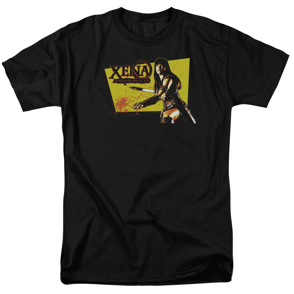 Xena Warrior Princess Cut Up Mens Short Sleeve Shirt