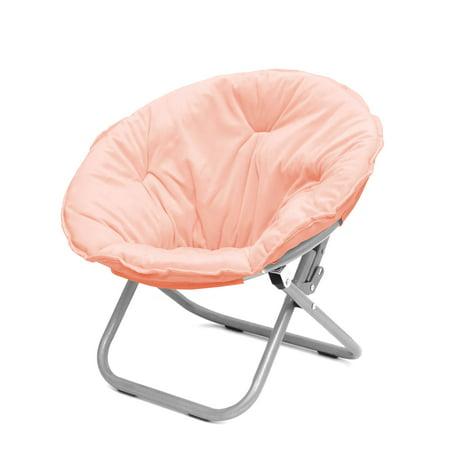 Urban Shop Royal Plush Kid Saucer Chair, Multiple Colors
