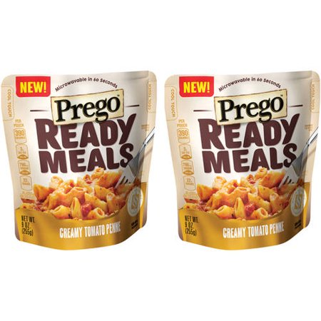 (2 Pack) Prego Ready Meals Creamy Tomato Penne, 9 oz. - Halloween Food Ideas Meals