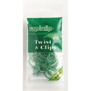 Lusterleaf Rapiclip Twist & Clips  816 - Pack of 12