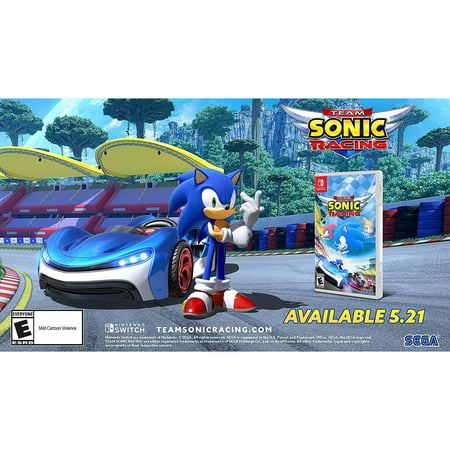 Team Sonic Racing, Sega, Nintendo Switch, 010086770070 (Sonic Halloween Racing)
