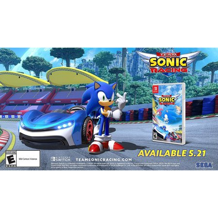 Team Sonic Racing, Sega, Nintendo Switch, 010086770070