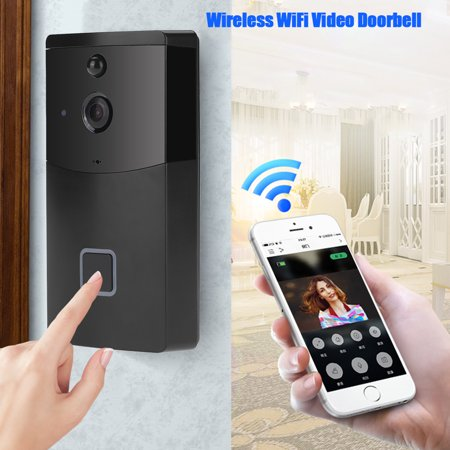 - Wireless WiFi Doorbell Video Camera Phone Ring Intercom Night Vision Home Build Security, Video Doorbell
