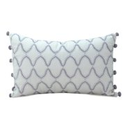 Nostalgia Home  Neveah 12-Inches Wide x 20-Inches Long Hyacinth Decorative Throw Pillow
