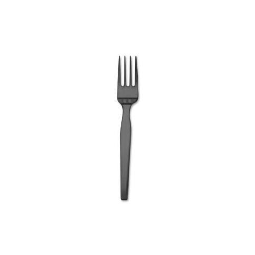 DIXIE FOODS Fork Refill, for SmartStock Dispenser, 960/CT, Black