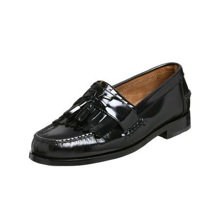 Florsheim Mens Belton Leather Round Toe Slip On Shoes