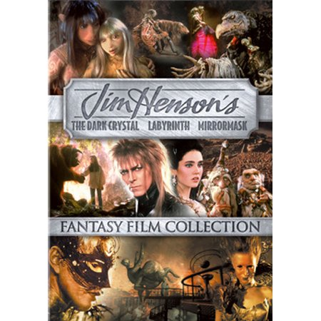 The Dark Crystal / Labyrinth / MirrorMask (DVD) - Labyrinthe D'halloween
