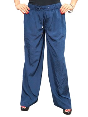 Mogul Women's Harems Pants Solid Blue Loose Palazzo Pant