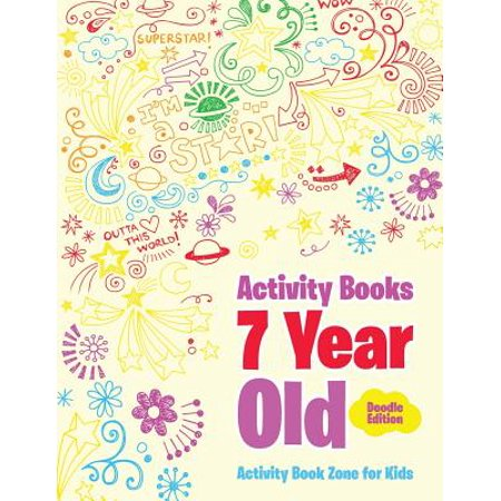 Activity Books 7 Year Old Doodle Edition - Halloween Activities For 4 Year Olds