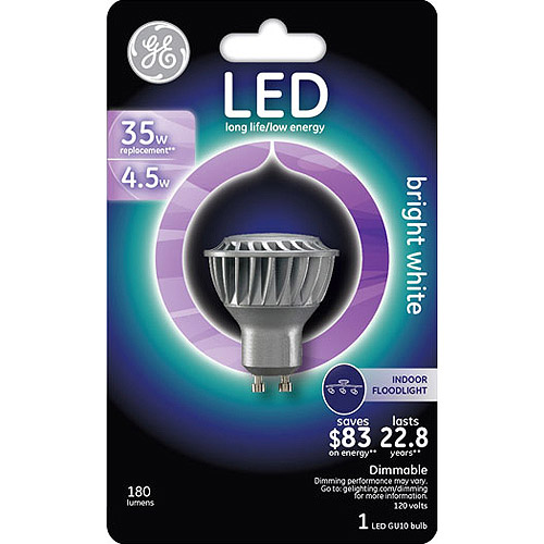 GE 25-Watt Equivalent LED GU10 Reflector, 1-Pack