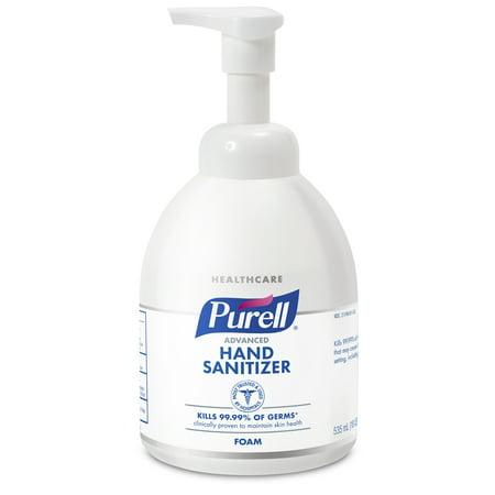 PURELL® Advanced Hand Sanitizer Foam, 535mL Table Top Pump Bottle (5792-04)