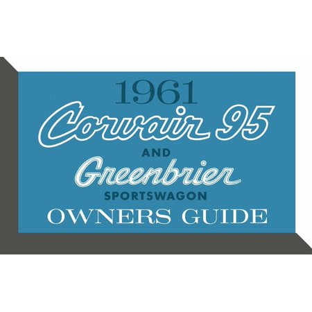1961 Corvair - Bishko OEM Maintenance Owner's Manual Bound for Chevrolet Corvair 95 & Greenbrier 1961