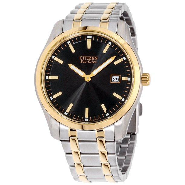 Citizen Men's AU1044-58E Eco-Drive Two-Tone Stainless Steel Bracelet Watch 1 Pc Watch Men