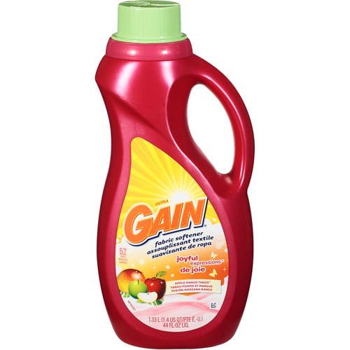 Gain Joyful Expressions Liquid Fabric Softener Apple Mango Tango 44 oz