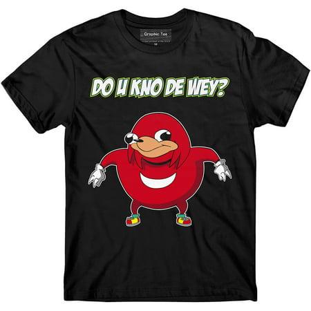 Ugandan Knuckles t-Shirt, Meme t-Shirt, Funny Shirt, Do You Know The Way - Funny Halloween Candy Memes