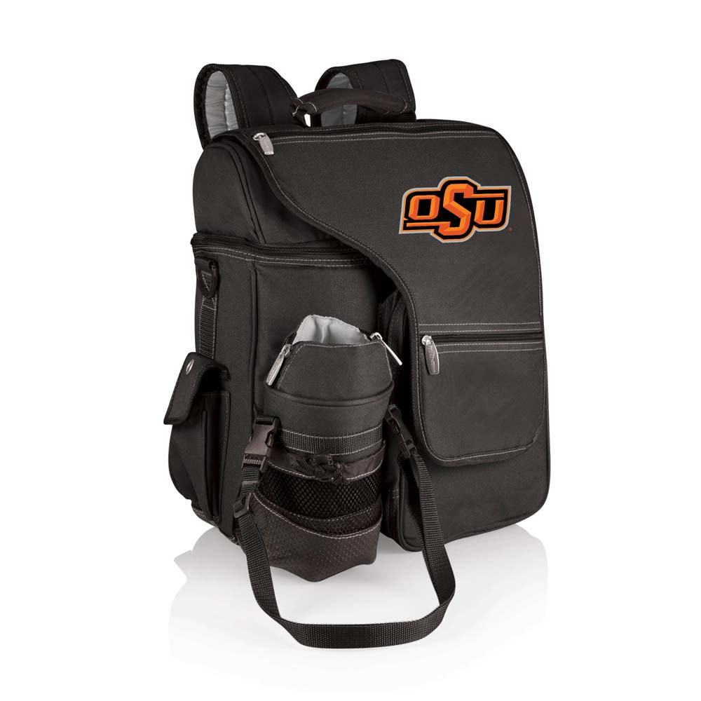 Turismo Digital Print Backpack in Black - Oklahoma State Cowboys