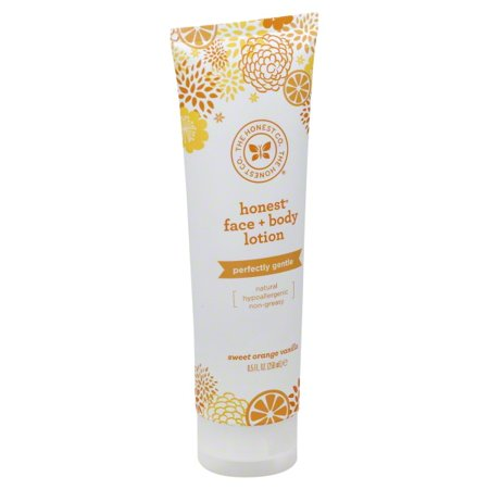 The Honest Company Face and Body Nourishing Lotion - Sweet Orange Vanilla - 8.5 Fl