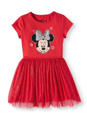 be38154711a Product Image Minnie Mouse Foil Mesh Dress (Little Girls and Big Girls)