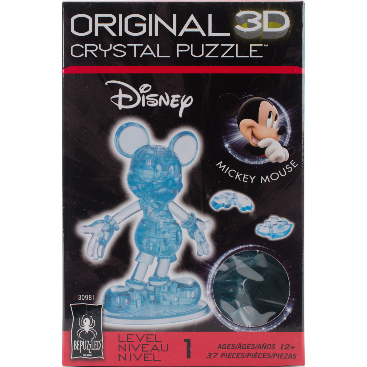 3D Licensed Crystal PuzzleMickey Mouse