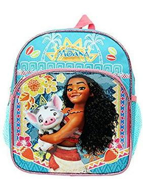 Product Image Mini Backpack - Disney - Moana Blue w Pua Pig Blue Pink 002312 861c1f7ee6d3a