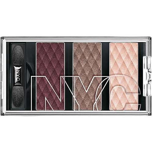 NYC New York Color HD Trio Eye Shadow, Central Park Plums