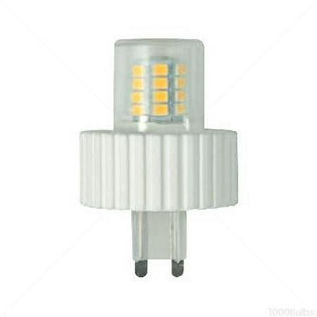 5 watt g9 base led 2700 kelvin warm white color replaces 40 watt halogen 120 volt. Black Bedroom Furniture Sets. Home Design Ideas