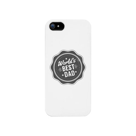 World's Best Dad White Phone Case (World's Best Mobile Ringtones)